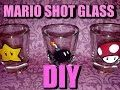 Super Mario Brothers shot glass set of 7