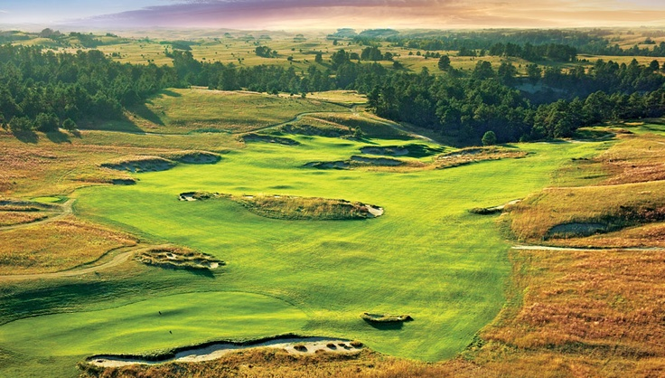 the pines course is one of two sweeping layouts at the new prairie club in north central nebraska - Prairie Club Valentine