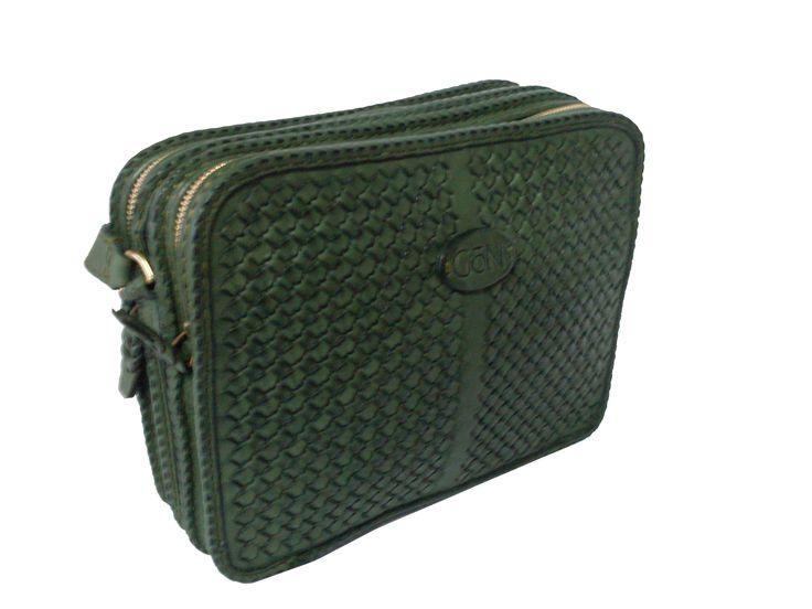 Gön Deri 20042 PEKE Leather Handmade Bag