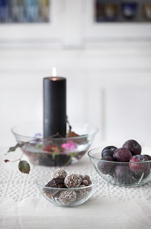 Komplet 3 misek szklanych - GRAND CRU Soft - DECO Salon. Bowls are perfect for serving soups, snacks, salads and fruits, but also be a great decoration of your living room.#rosendahl #forhome #kitchenaccessories #gift