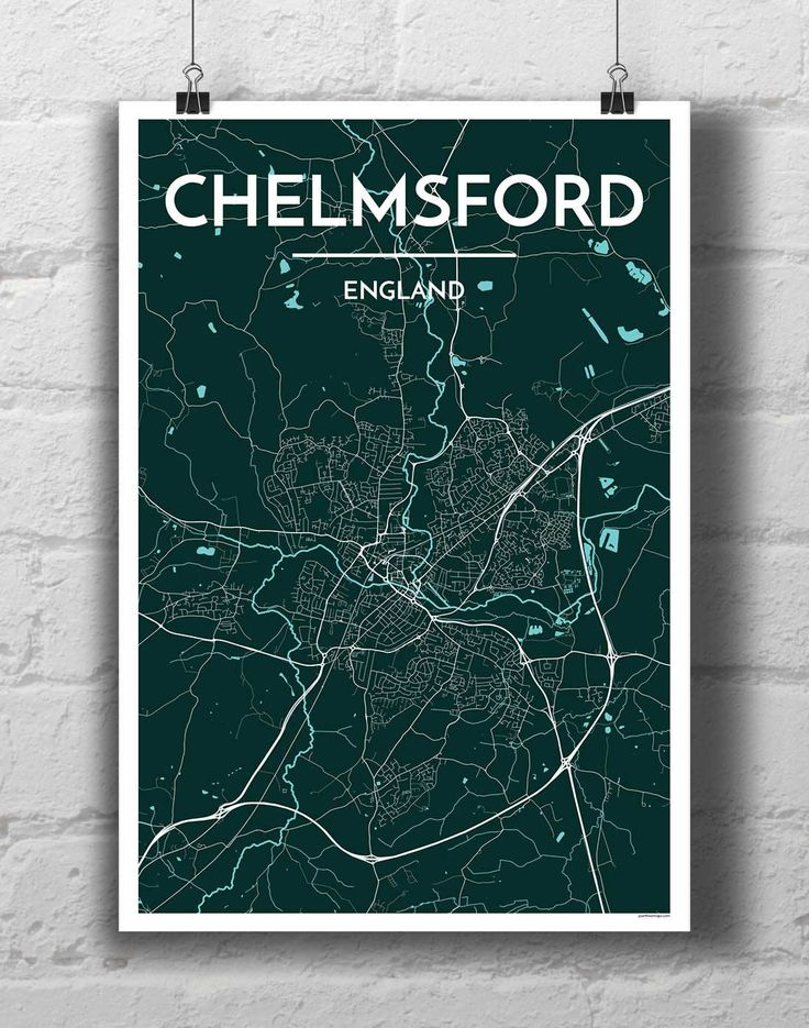 Chelmsford City Map