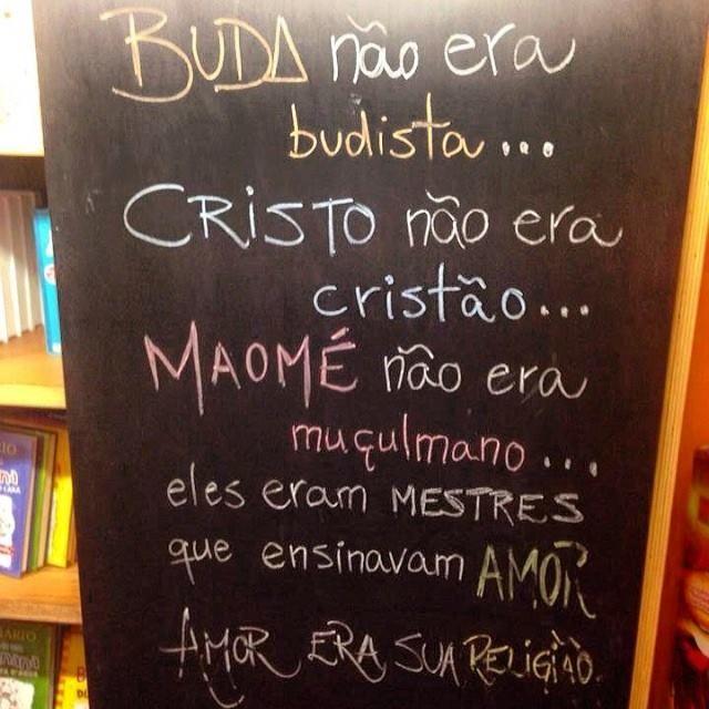 Buda, Cristo & Maome'