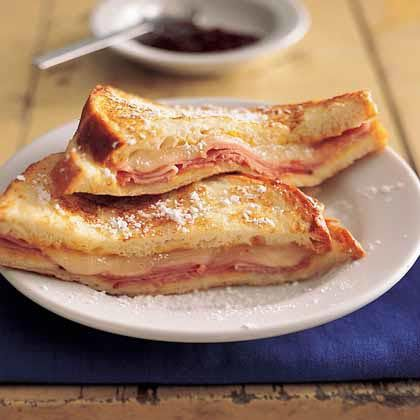 Boyfriend's favorites: Cristo Paninis, Sandwiches Myrecipes Com, Monte Cristo Sandwiches, Sandwiches Recipes, Easy Monte, Dinners, Cooking Lights, Sandwich Recipes, Favorite