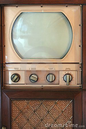 A Vintage tv set from 1949