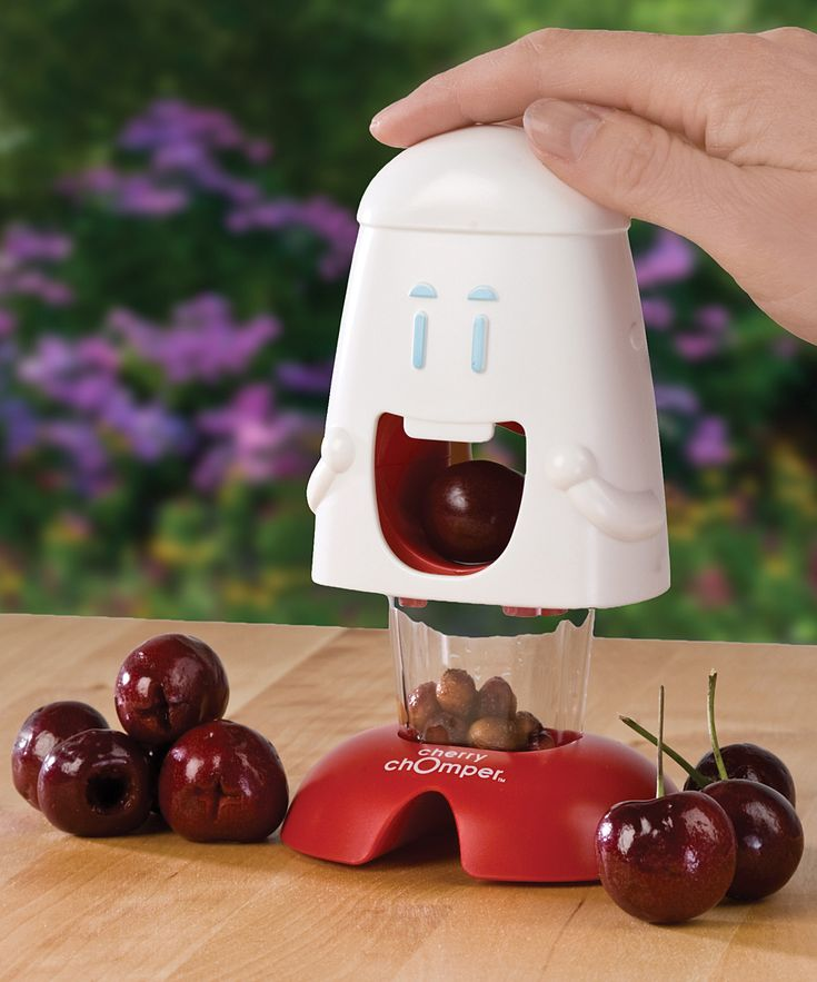 Chomper - cherry and olive pit remover #product_design
