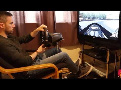 Wheel Stand Pro Review with Logitech G920 Wheel and Pedals - YouTube