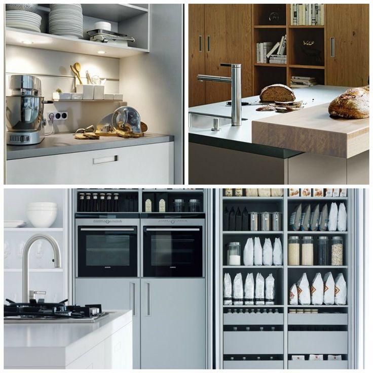 Create a minimalist kitchen with modern storage from Next125 | German Kitchens
