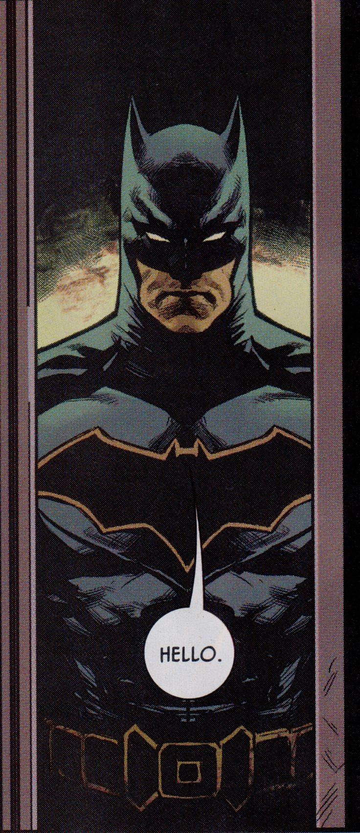 1/13/18   3:55a   DC  Batman  Bruce Wayne   aka Batman   ''Hello''