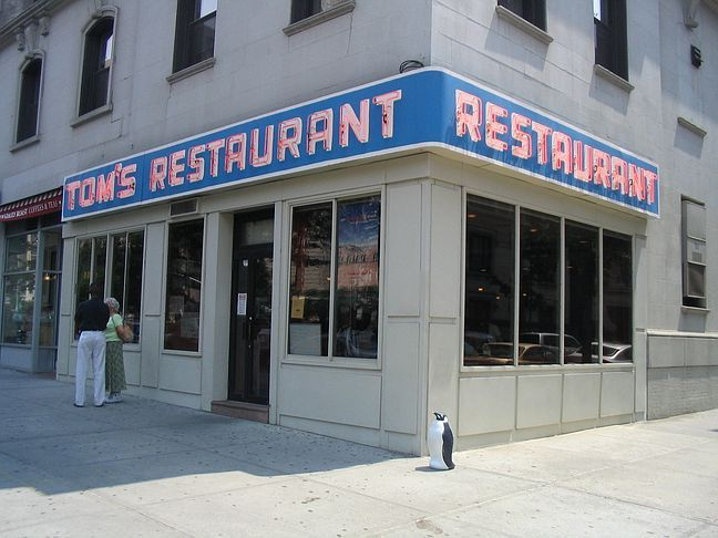 "Tom's Restaurant from ""Seinfeld"" - 112th & Broadway by Columbia University"