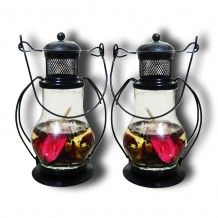 Pair of Lantern Candle A wonderful product to decor your home .