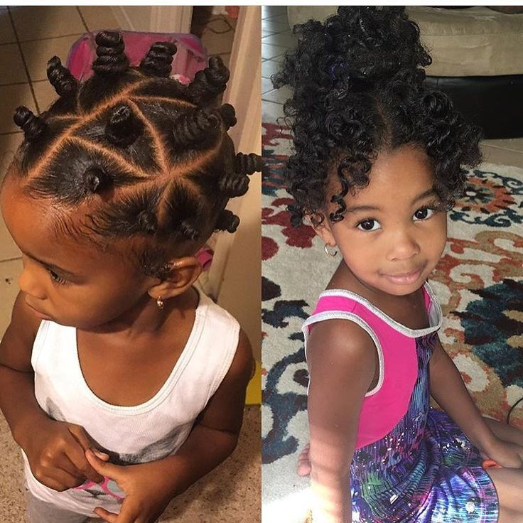 She is absolutely too cute @ashleyerinfreeman  Love those bantu knots#voiceofhair ========================== Go to VoiceOfHair.com ========================= Find hairstyles and hair tips! =========================