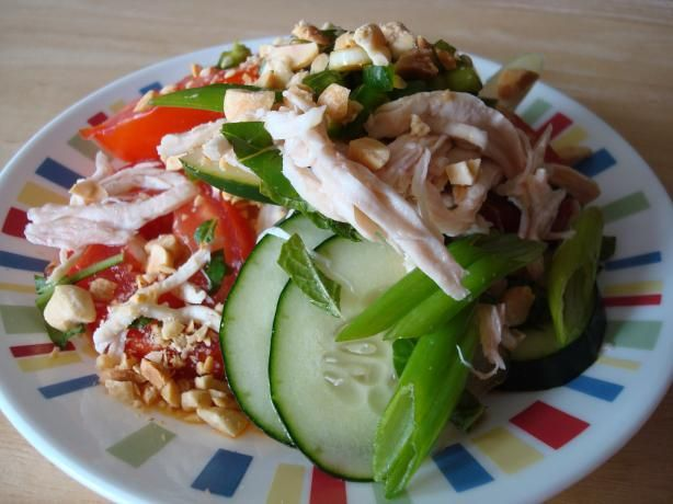 Tomato Salad - My grandmother makes this all the time. #Cambodian #SimpleEats
