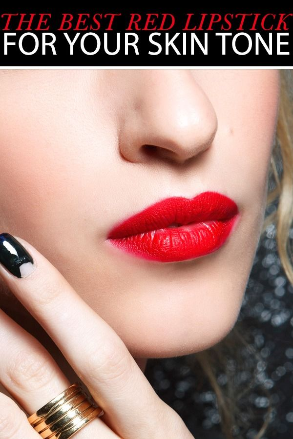 Find Your Most Flattering Shade Of Red Lipstick