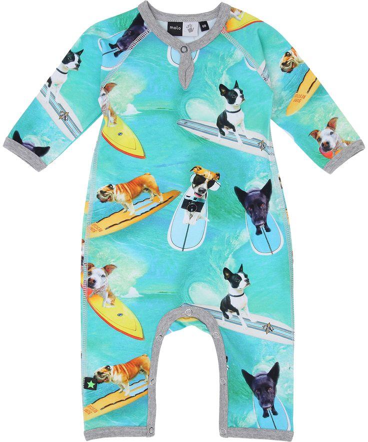 Molo super cool surf dog printed playsuit. molo.en.emilea.be