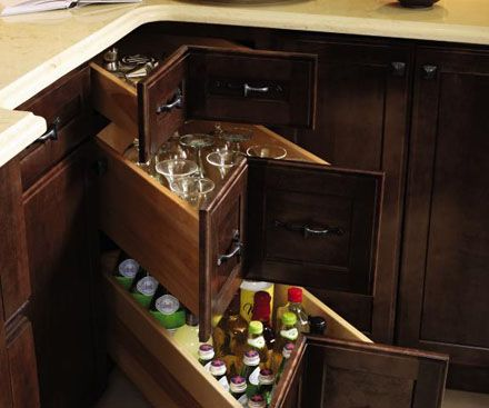 Three Corner Drawer Base