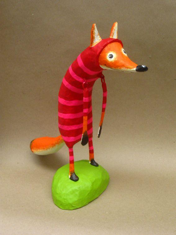 Звери папье-маше из Колумбии - Ручные звери. Животные своими руками.