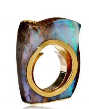 Opal ring... H    Opal ring