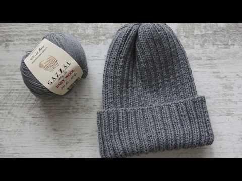 Самая красивая макушка для шапки бини или двойной шапки - YouTube