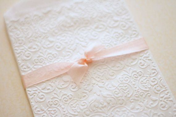 Hey, I found this really awesome Etsy listing at https://www.etsy.com/listing/108638570/gift-bags-embossed-white-antique-lace
