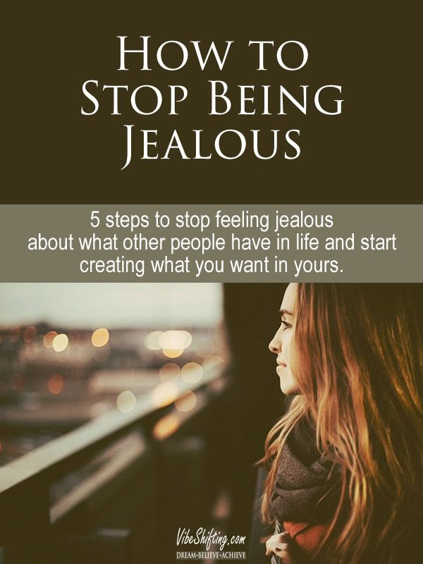 How To Stop Being Jealous Of Other Women