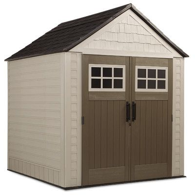 Featured Here Are Rubbermaid Outdoor Storage, Garden, And Trash Sheds.  There Is An
