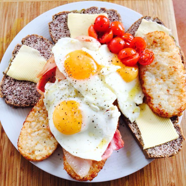 Bulking breakfast 💪🏽😋