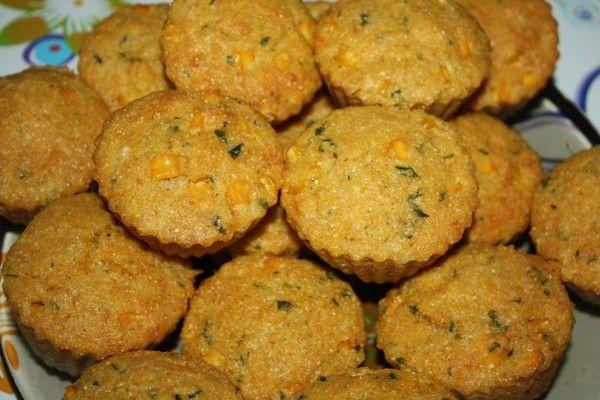 Briose fara gluten cu porumb (savory dish)