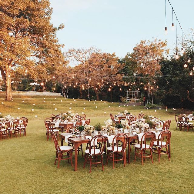 Lovely Rustic Outdoor Wedding Ideas | This Is Amazing! Head Over To Anjar  Tanjung Where