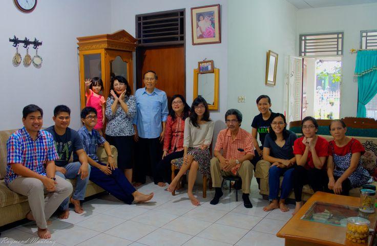 Family gathering at Bogor