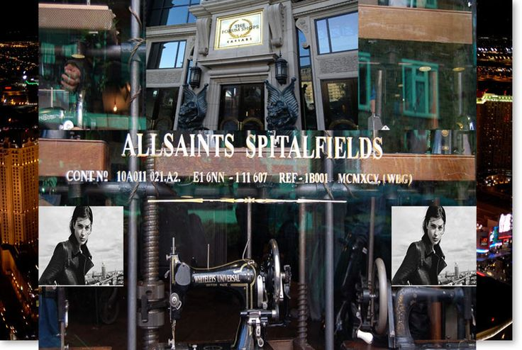 Welcome to ALLSAINTS... #TheVegasWay... Opening Day is just a few hours away!!! Anxiously waiting to see their second largest store in the WORLD!!