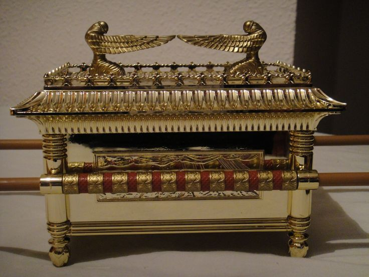 What was the mercy seat on the Ark of the Covenant?