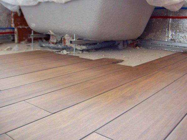 suelo para bao de gres porcelnico imitacin a madera