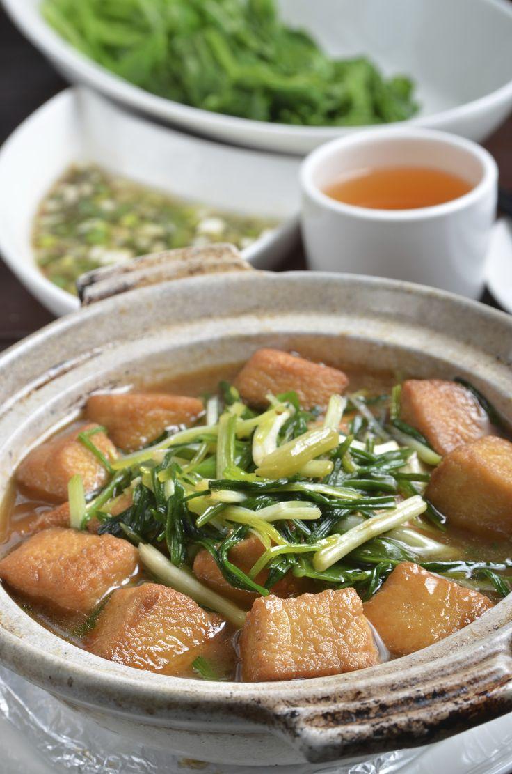 Braised Tofu Puff - A warming dish for those cold fall and winter days! Recipe Here: http://www.superiortofu.com/braised-tofu-puff/
