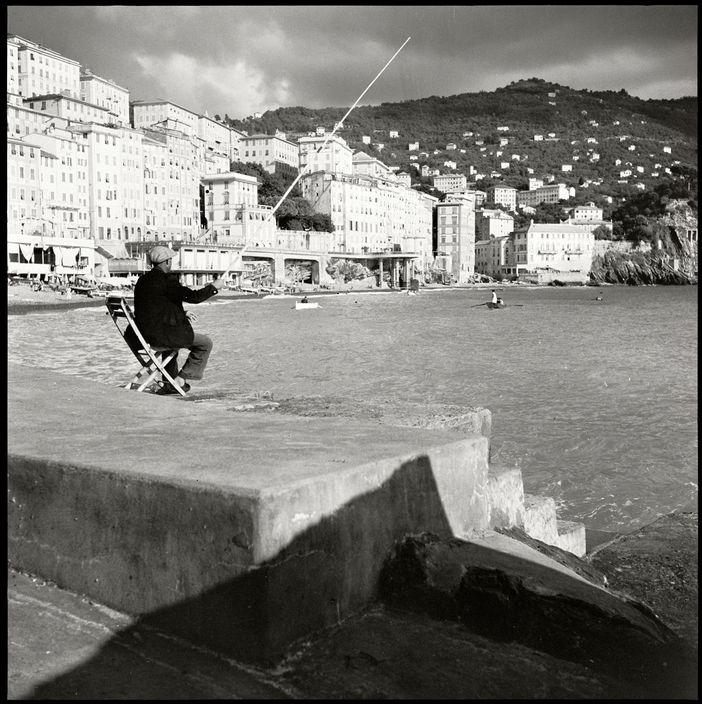 Magnum Photos - Herbert List ITALY. Camogli. View of the resort Camogli near Genova from the pier. 1936 L-IT-CAM-001