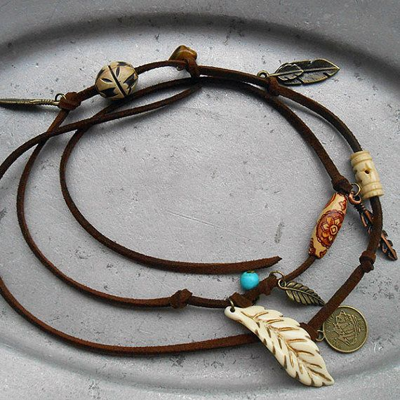 Free Spirit - Free Tie Tan - Adorned with different beads and charms, this is your number one must-have bohemian item