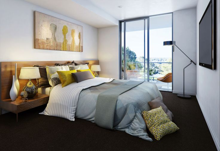 Luxury bedroom design. Perth Apartment! www.developwise.com.au