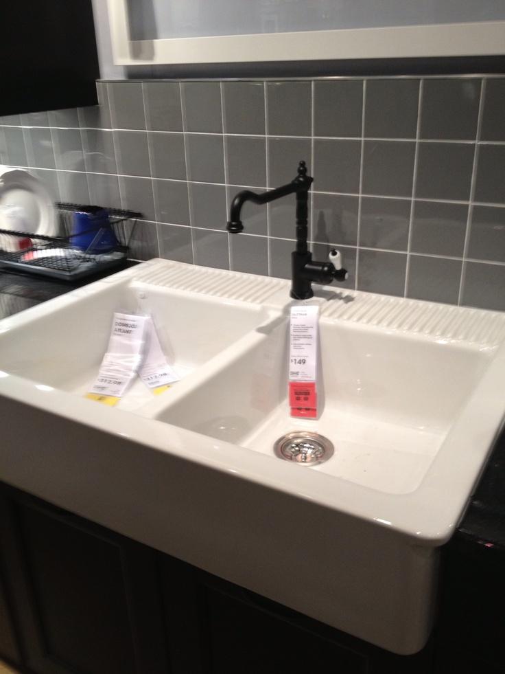 Undermount Sink Ikea : ... sinks on Pinterest Granite sinks, Undermount sink and Ikea farmhouse