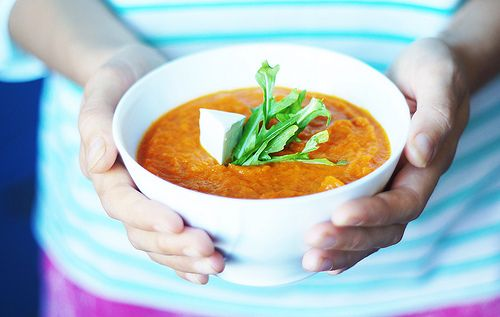 Суп-пюре из запеченной моркови | Salatshop ♥ You