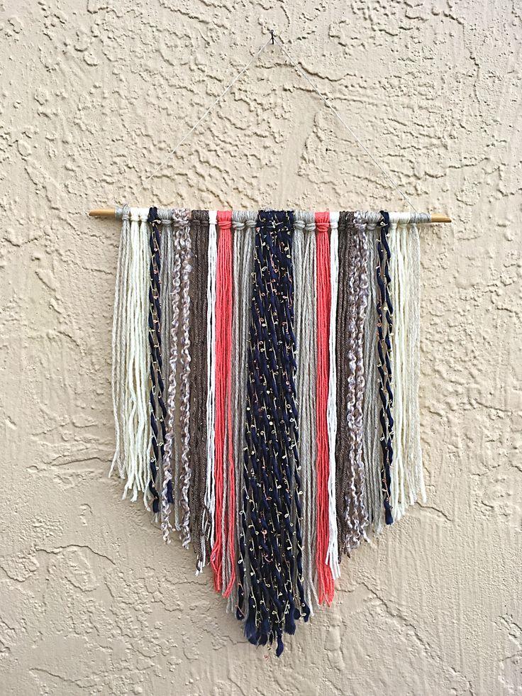 17 Best ideas about Yarn Wall Hanging on Pinterest | Diy ...
