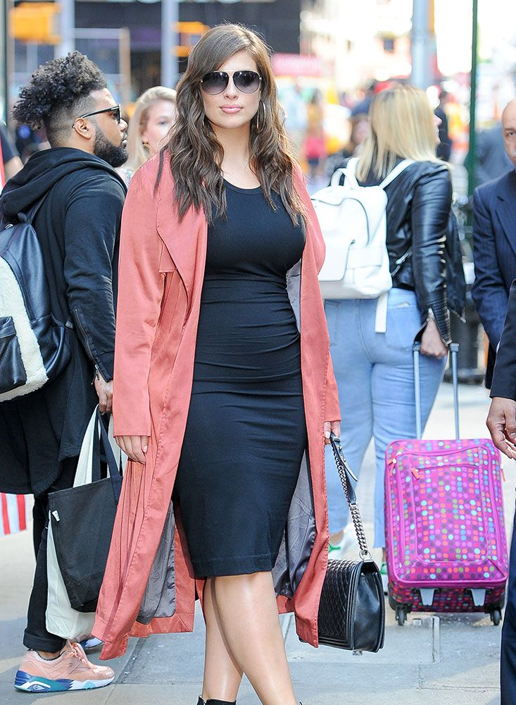 Model Ashley Graham Loves Chanel Boy Bags and Luxe Neutrals