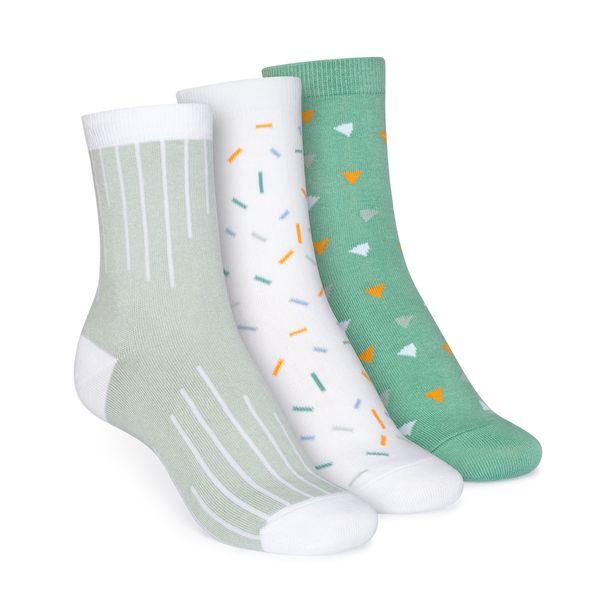 THOKKTHOKK 3er Pack Socken Mittelhoch // Colour Grading/sprinkles/wood Worker