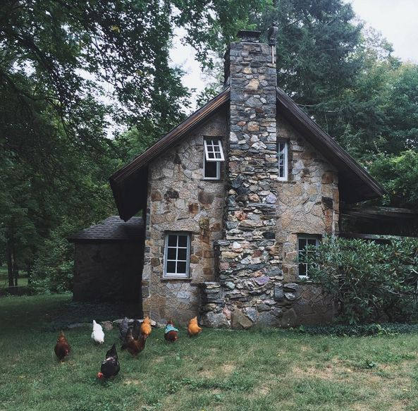 I am sorry I have not written! I have moved away from my home in the mountains, followed up the Appalachians, and landed in a little cottage...