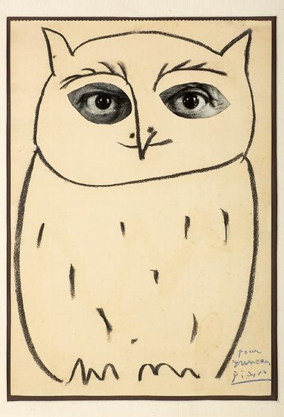 Helena RokytovaModern Art, Self Portraits, Picasso Owls, Art Room, Studios Artists, Picasso Drawing, Snow Owls, 1957 Pablo, Pablo Picasso