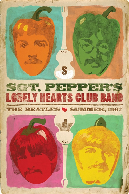 Always Summer Sgt. Pepper Poster, by one Bryant Hardwick.