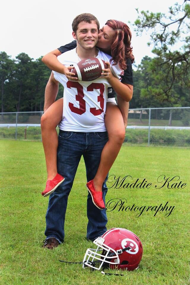 Football Couples Photography