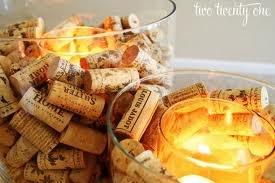 wine cork wedding tag holder #CupcakeDreamWedding