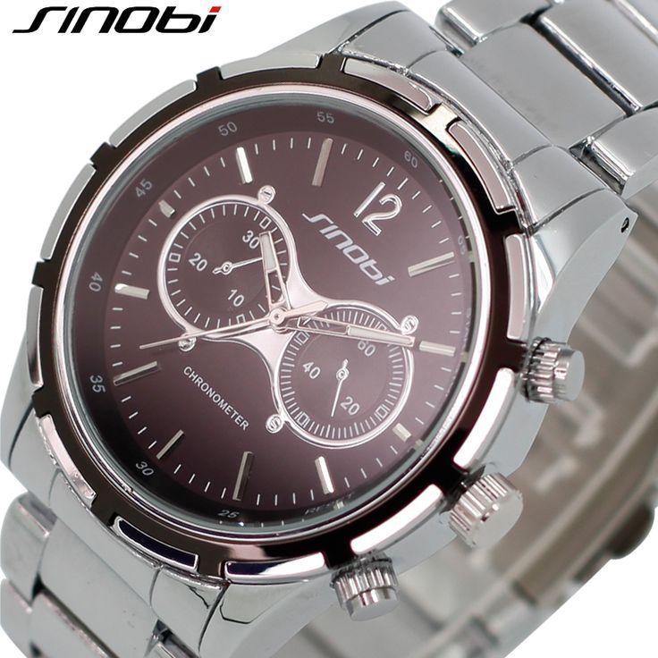 SINOBI Бизнес Top Brand Мужские Часы Открытый Случайные Высокое Качество Мужчины Кварцевые часы Офис Роскошный Новый Прибытия Relogio Masculino