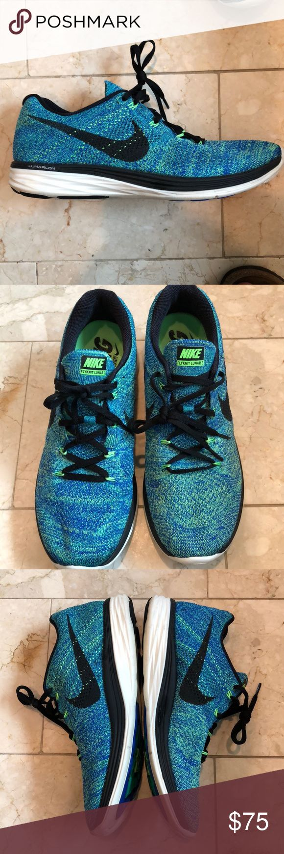 Nike FlyKnit Lunar 3 Nike FlyKnit Lunar 3's. Great condition! Worn a handful of times. Neutral ride shoe. Nike Shoes Athletic Shoes