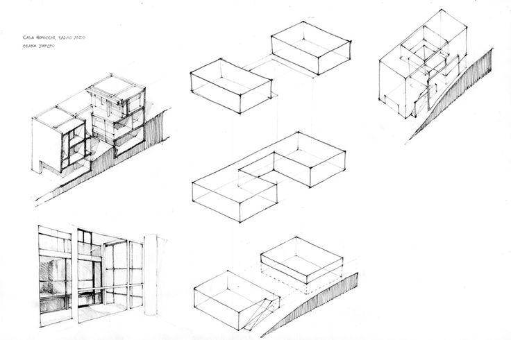eivrportafolio:  Horiuchi House - Tadao Ando