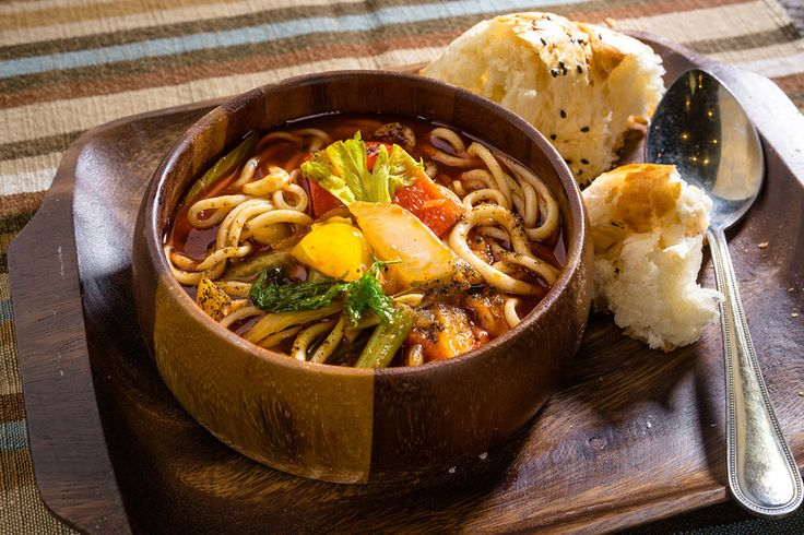 Vegetarian lagman (Vegetable soup with noodles and spicy adzhika sauce) #chaihona1 #vegetarian